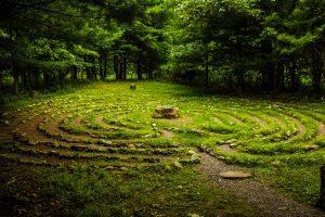 Labyrinth at Columcille Megalith Park, Bangor PA